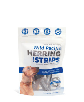 Snack 21 Herring Strips Wild Pacific 25 g