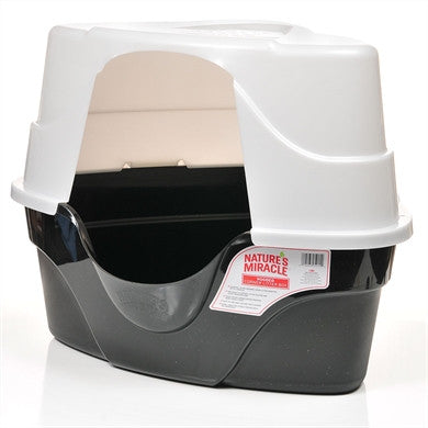 Nature's Miracle High Sided Covered Litter Box