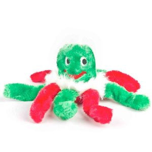 Christmas Octopus Dog Toy