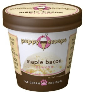 Puppy Cake Ice Cream Mix Maple Bacon