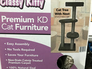 Classy Kitty Cat Tree with Nest