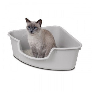 Smart Cat Corner Litter Box