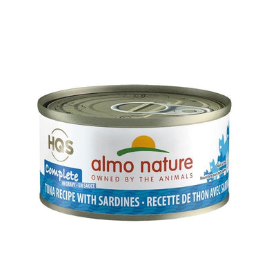 Almo Nature HQS Complete Tuna With Sardines 70gr