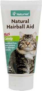 NaturVet Natural Hairball Aid with Cat Nip gel