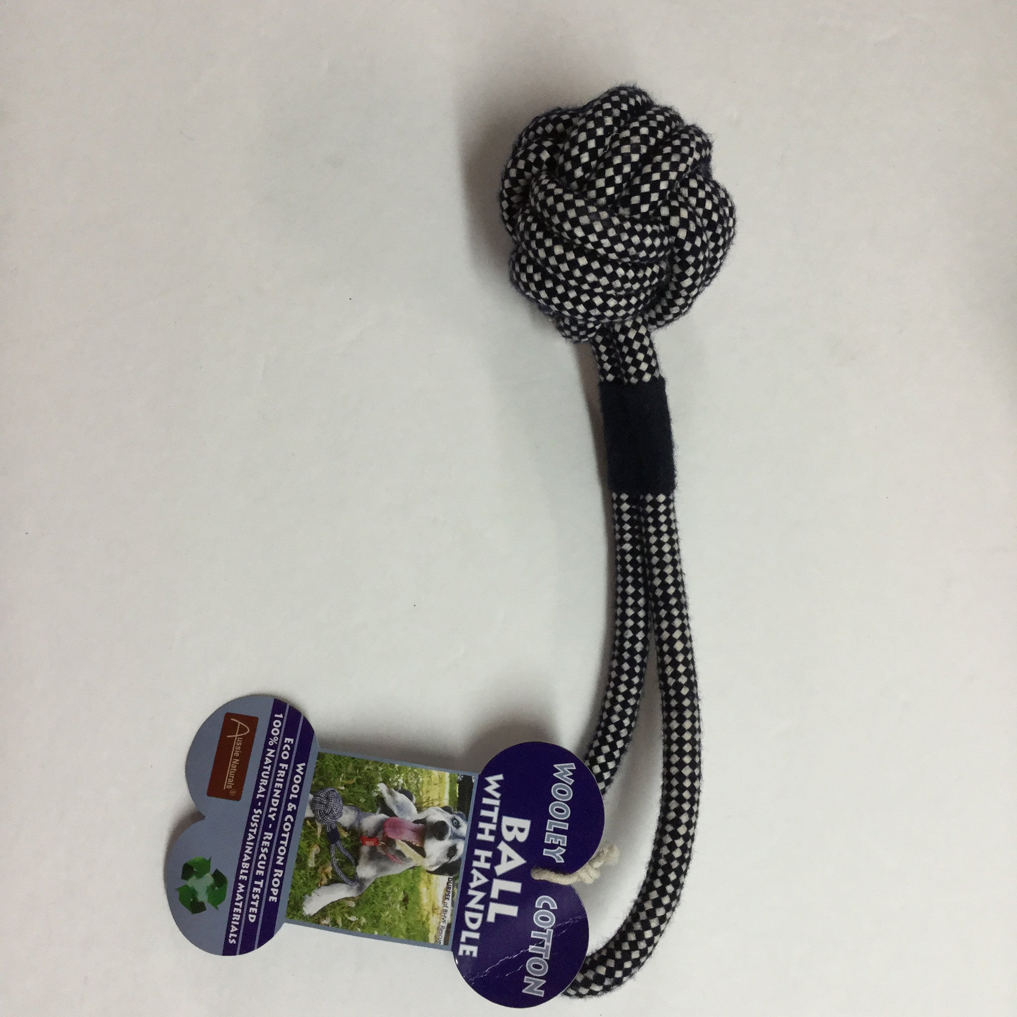 Aussie Wooley Cotton Ball With Handle Sale Bal