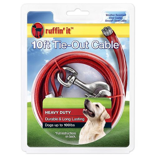 Ruffin'it Tie - Out Cable 10Ft