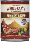Whole Earth Farms - Canned Dog Food - Red Meat Recipe 12.7oz