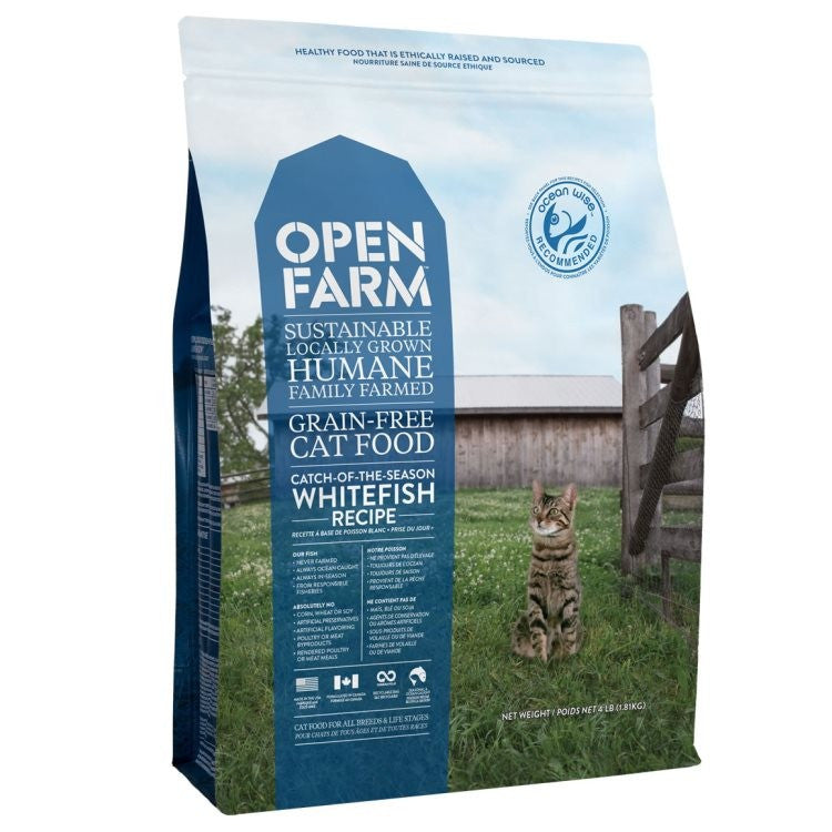 Open Farm  - Whitefish Recipe Cat Food