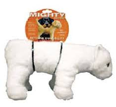 Mighty Dog Toy - Polar Bear