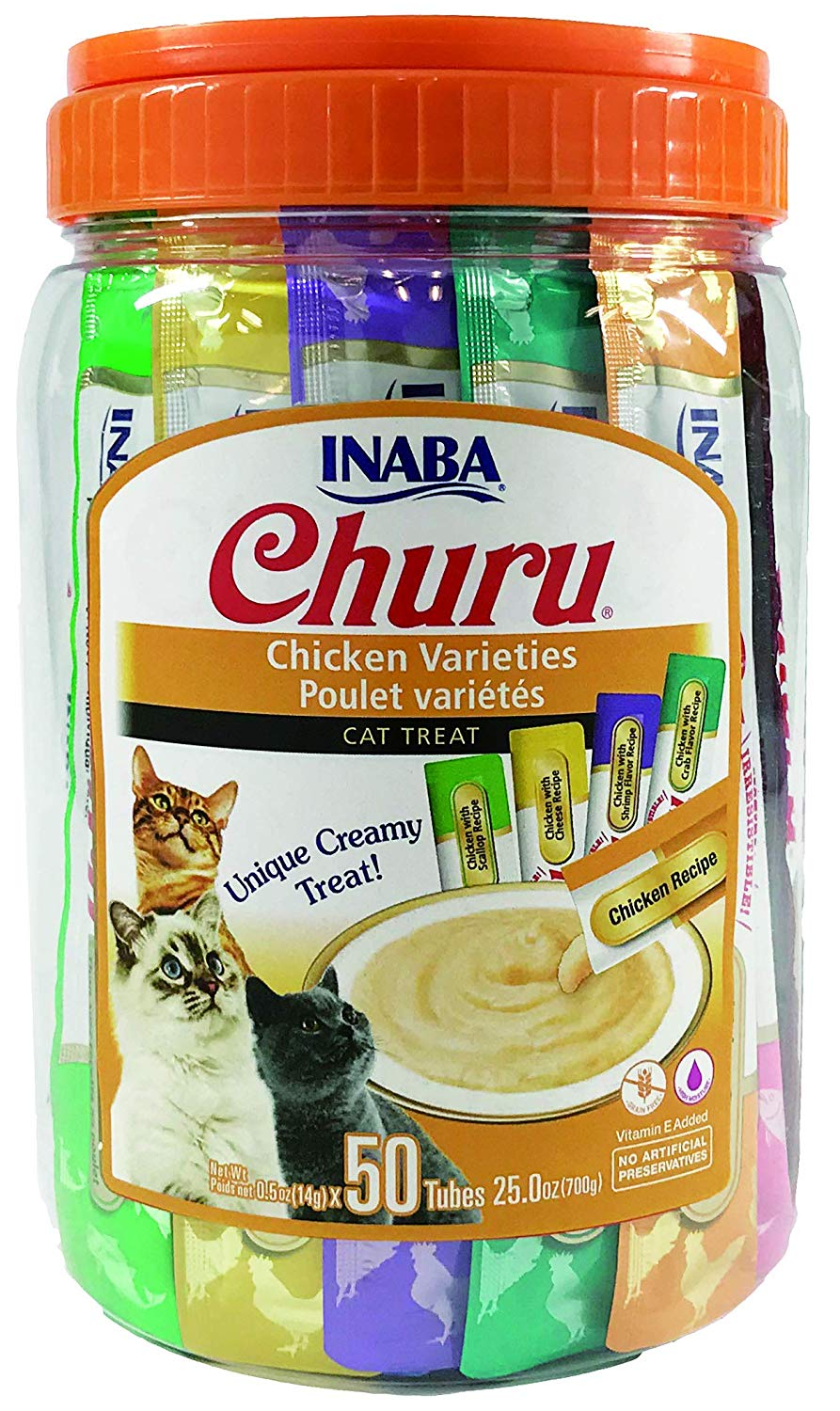 Inaba Churu Purées Variety Pack Chicken Recipes