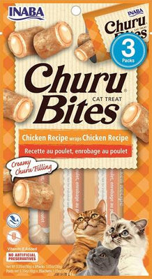 Inaba Cat Churu Bites Chicken Recipe Wraps Chicken Recipe
