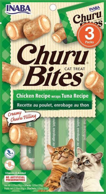 Inaba Cat Churu Bites Chicken Recipe Wraps Tuna Recipe
