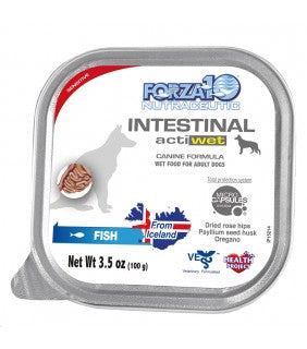 forza 10 actiwet for dogs intestinal fish salmon