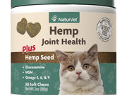 Naturvet® Hemp Joint Health Soft Chew Jar For Cats