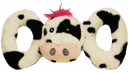Jolly Pets Tug-a-Mals Cow