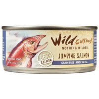 Wild Calling Jumping Salmon Canned Cat Food