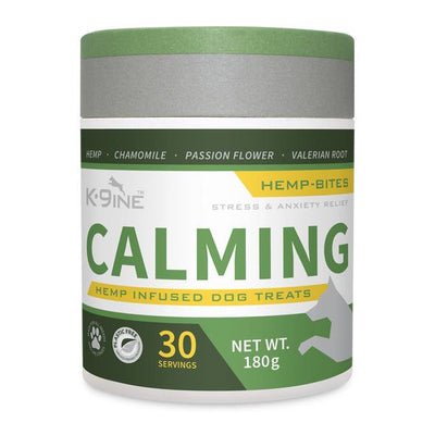 K9ine Calming Hemp Infused Dog Treats 180 g, 30 bites