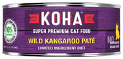 KOHA Wild Kangaroo Pate For Cats -5.5oz