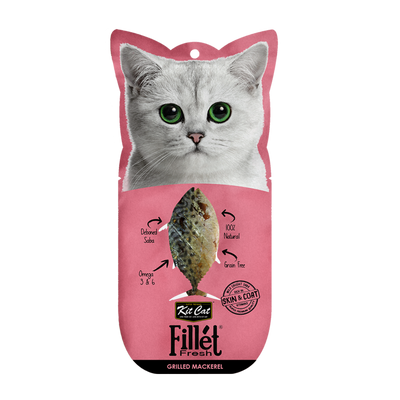 Kit Cat Grilled Mackerel Fillet 30g