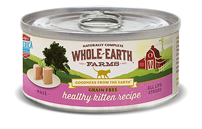 Whole Earth Farms - Healthy Kitten Recipe