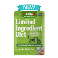 Koha LID Shredded Turkey Pouch