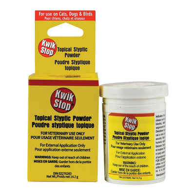 Kwik Stop Topical Styptic Powder