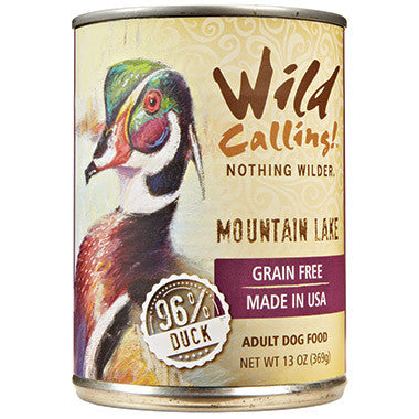Wild Calling Mountain Lake Duck Dog Food