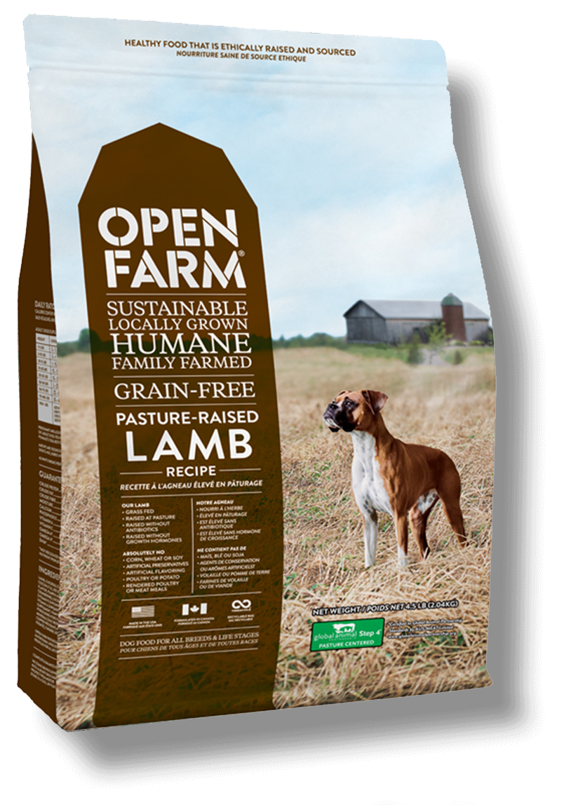 Open Farm Pasture lamb dog food