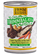 Fromm Frommbalaya Lamb, Vegetable & Rice Stew 12.5 oz Dog Wet SALE