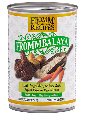Fromm Frommbalaya Lamb, Vegetable & Rice Stew 12.5 oz Dog Wet