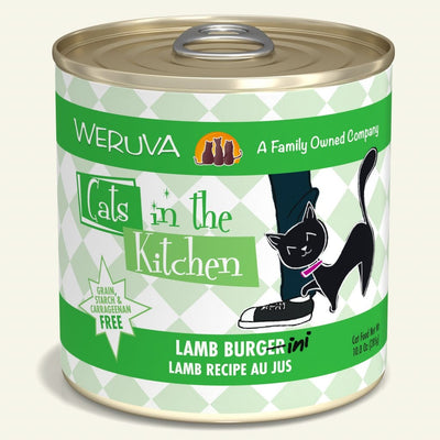 Weruva Lamb Burger 10 oz Cat Can