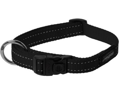 rogz fanbelt large collar black