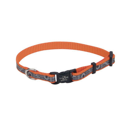 Laser bright collar orange