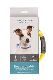 Bow & Arrow Rechargeable Light Up Band
