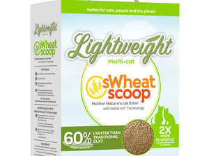 Swheat Scoop® Lightweight Multi-Cat Cat Litter