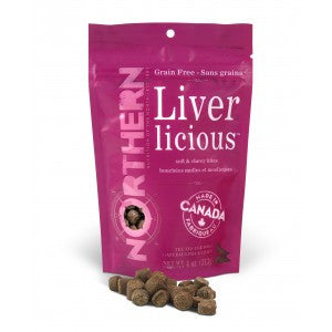 Northern Biscuits Northern Biscuits Soft & Chewy Bites, Grain Free Liverlicious - 113g