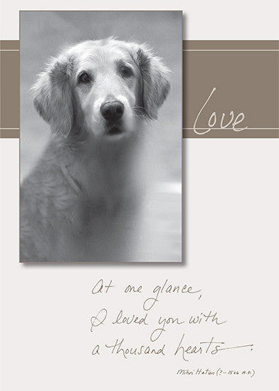 Dog Speak- Pet Sympathy Card