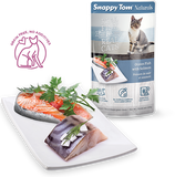 Snappy Tom - Naturals Cat Pouches - Ocean Fish with Salmon 100g