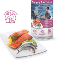 Snappy Tom - Naturals Cat Pouches - Sardine Cutlets with Salmon 100g