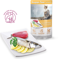 Snappy Tom - Naturals Cat Pouches - Tuna & Mackerel 100g