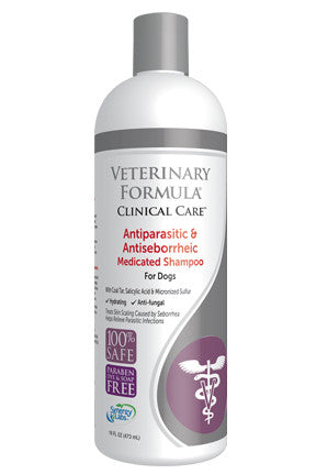 Synergy Labs-Antiparasitic & Antieborrheic Medicated Shampoo for Dogs