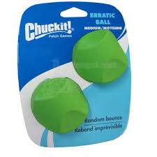 Chuckit Erratic Balls - Medium (2 pack)