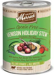 Merrick Venison Holiday Stew Canned Dog Food