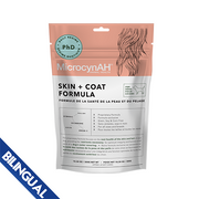MicrocynAH® Skin and Coat Formula for Dogs 300 g