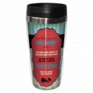 DOG LOVER TRAVEL MUG