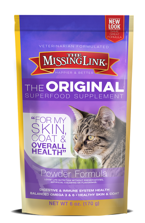 Missing Link - Original Superfood Supplement for cats - 6 oz