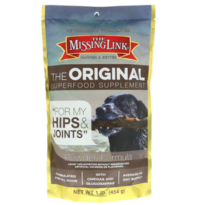 Missing Link The Original Superfood Supplement Hip & Joints for dogs 1 lb