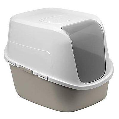 Moderna Amerix Warm Grey Closed Litter Box