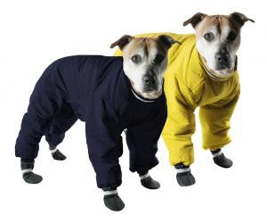 Muttluks Reversible Snowsuit Black/Yellow SALE