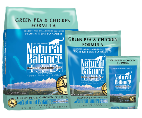 Natural Balance Dry Food - Green Pea & Chicken Cat Food